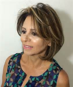 show the back of some modern womens medium length haircuts 70 respectable yet modern hairstyles for women over 50