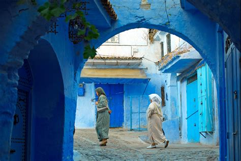 blue city morocco morocco s secret all blue city