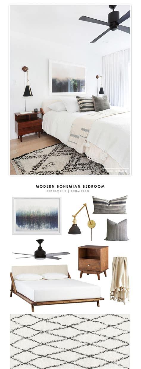 modern bohemian bedroom copy cat chic room redo modern bohemian bedroom