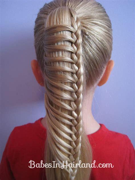 Ladder Hairstyle by Half Ladder Braids In Hairland