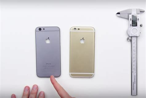 iphone 6s back plate compared to iphone 6 changes may avoid any bendgate issue
