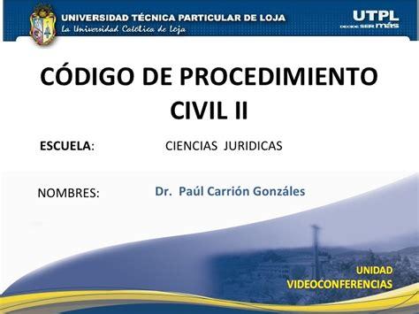 codigo de procedimiento civil bolivia codigo de procedimiento civil codigo del procedimiento civil ii