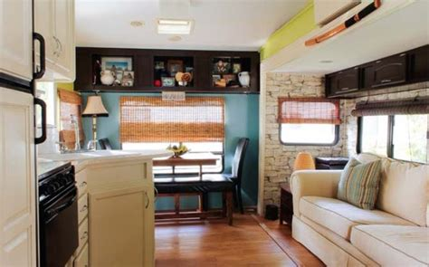 rv renovation ideas houses plans designs travel trailer remodel 5