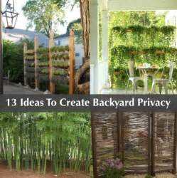 Ideas 15 backyard design ideas 13 attractive ways to add privacy to