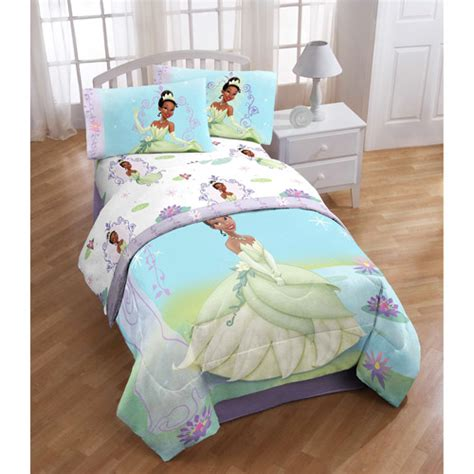 kids disney princess and the frog tiana comforter sheets
