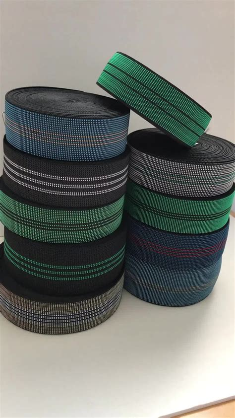 sofa elastic webbing zhejiang wholesale outdoor furniture belt for sofa elastic