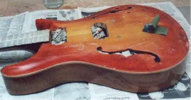 Gitarre Nach Lackieren Polieren by Beschreibung Des Baues Einer Archtop Gitarre Seite 11