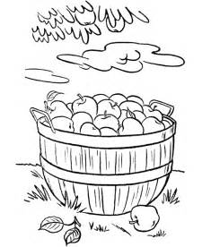 basket of apples colouring pages page 2 coloring home