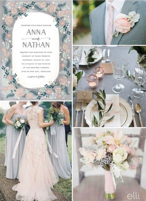 2018 summer wedding color themes oosile