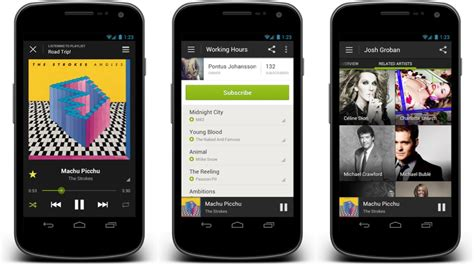 spotify app android spotify s reved android app available to all gizmodo australia