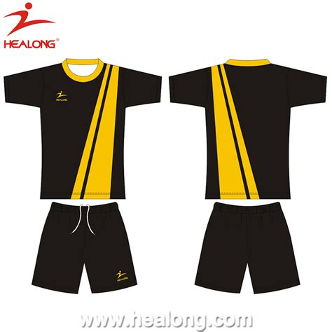 mens 2017 thai kualitas sublimasi sepak bola seragam set custome desain olahraga pria jersey