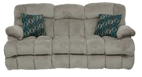 sofas for less concord catnapper concord power lay flat reclining sofa smoke cn