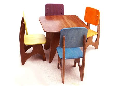 Childrens Wooden Kitchen Furniture Furniture Awesome Childrens Wood Table And Chairs