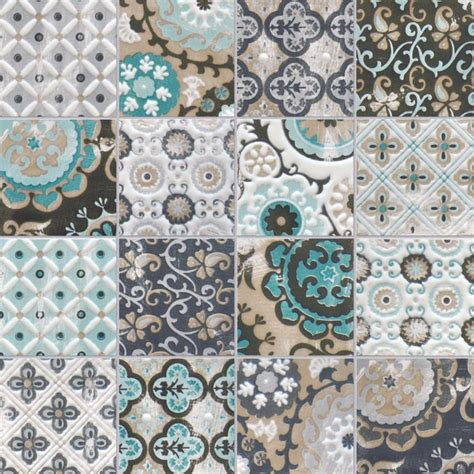 Kitchen Backsplash Mural moroccan inspired tiles modern melbourne by perini tiles