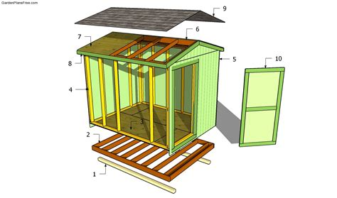 Garden Shed Plans Free Free Garden Plans How To Build Building Plans For Garden Shed