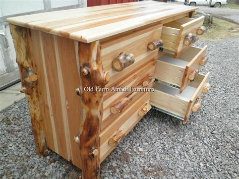 Handmade Furniture Pa - aspen log dresser farm amish furniture dayton pa