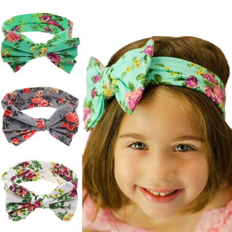 Ribbon Baby Headband baby headbands polka dot ribbon bow headband flower elastic infant band product