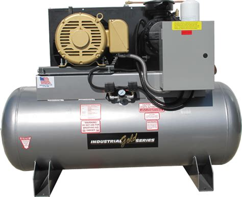 rotary air compressor 7 5hp 1ph 80gallon tools usa