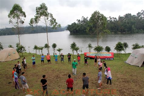 bca lembang bca finance outbound pangalengan camping fun games