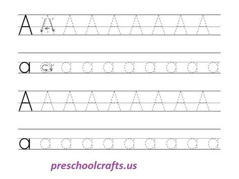 tracing small alphabets worksheets alphabet capital and small letter a tracing worksheet preschool crafts