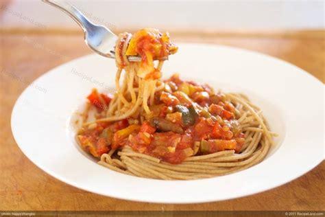 garden vegetable spaghetti sauce recipe garden spaghetti sauce recipe recipeland
