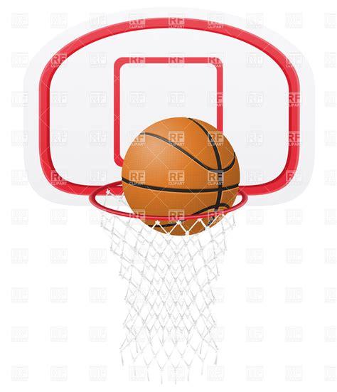 Bola Basketring basketball hoop border clipart panda free clipart images