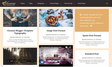 blogger themes protemplateslab cleansis blogger template