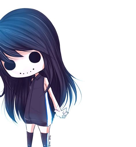 chibi girls horror an ghost v2 death anime chibi emo scene goth gothic dark darkness emoscenelove