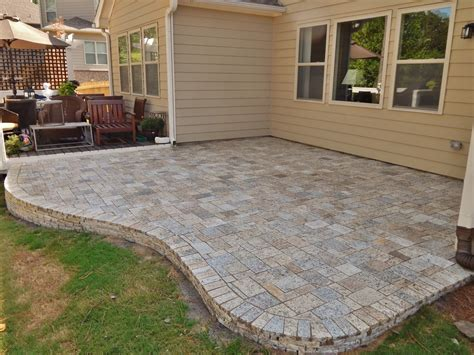 4 X 8 Patio Pavers 4 X 8 Patio Pavers Paver Brick Patio Installation In Bloomfield Mi 4 X 8 Herringbone Pattern
