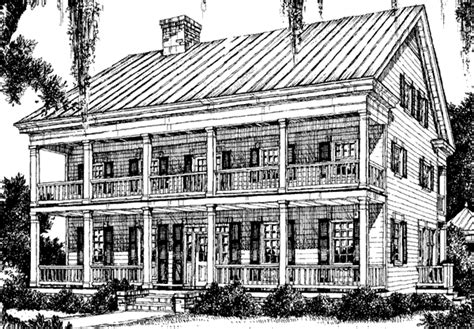 Lousiana Plantation William H Phillips Southern Louisiana Plantation House Plans