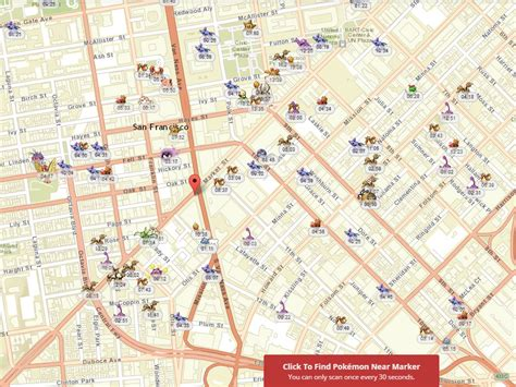 san francisco map go the best pok 233 mon go map grabs data directly from the