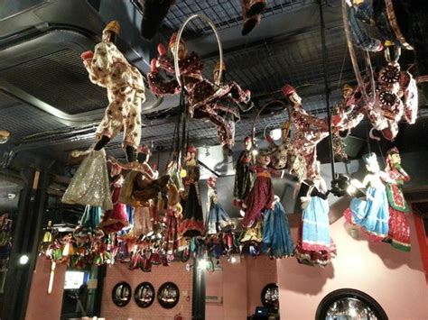 masala zone covent garden dolls hanging from the ceiling picture of masala zone