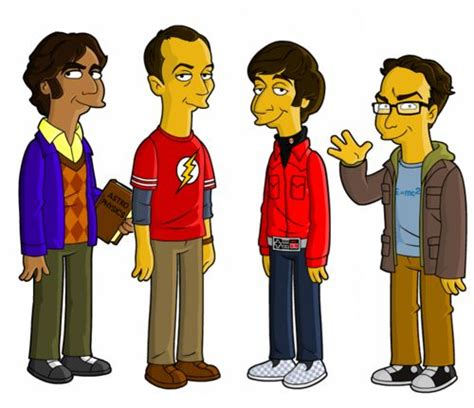 silly simpsons nerds voices and fan artthe simpsons 247 best big bangtheory images on