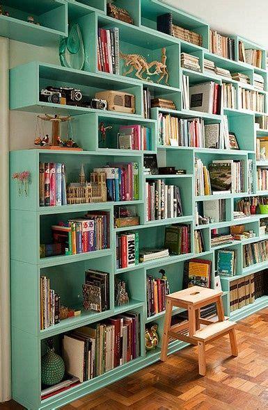 25 best ideas about wall bookshelves on