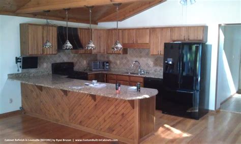 Cabinet Lacquer Refinishing by Cabinet Refinishing Louisville And Southern Indiana Areas