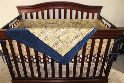 Vintage Baseball Nursery Bedding Thenurseries Baseball Baby Bedding Crib Sets
