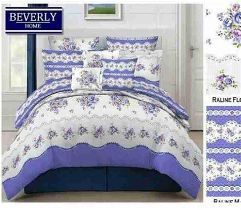 Sprei Bahan Katun Beverly Uk 18020022 detail product sprei dan bedcover raline ungu toko
