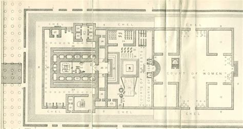temple floor plan the talmud appendix plan of the temple