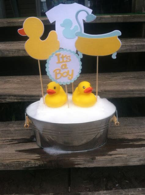 25 best ideas about rubber duck centerpieces on