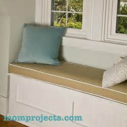 how to make window bench diy how to make a window bench cushion plans free
