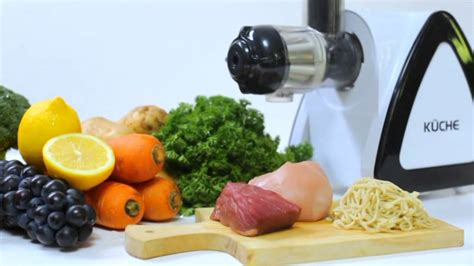 Juicer Kuche kuche multifunctional juicer 7in1