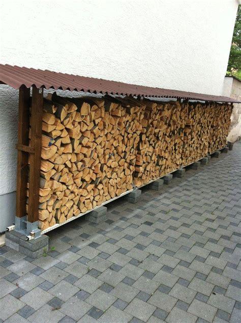 gestell zum holzstapeln richtig gelagertes brennholz outdoor living