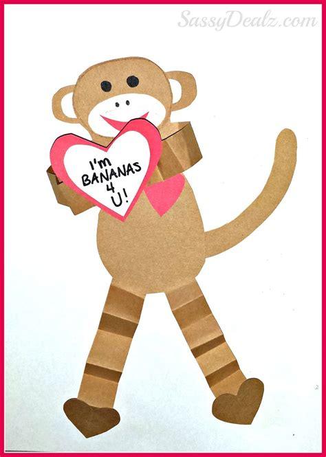 arctic monkeys valentines card 17 best ideas about monkey crafts on jungle