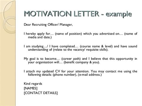Motivation Letter Sle For Workshop Cv Writing Skills Workshop Slides 17 February 2015 2