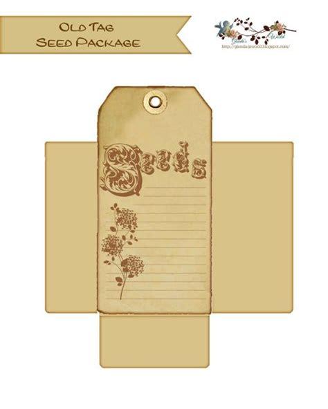 pattern for seed envelope glenda s world seed packet envelope templates