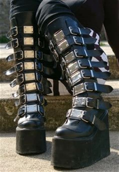 demonia swing 815 shoes boots on pinterest goth boots gothic boots