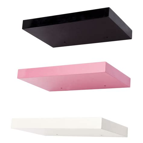 floating shelves high gloss shelf concealed wall mounting