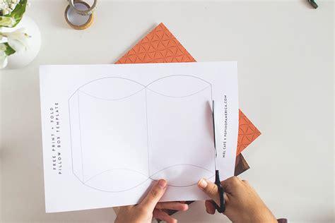 diy pillow box template gallery templates design ideas
