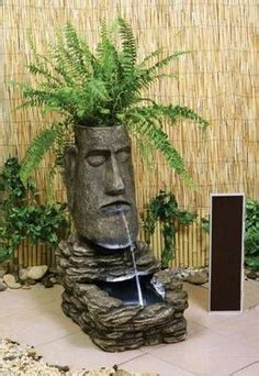 island 4 tiki indoor outdoor water fountain ebay tiki on pinterest tiki bars totems and statues