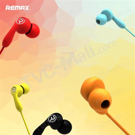 Remax Wired Earphone 505 Yellow remax 505 wired headset 3 5mm in ear earphone with mic for iphone samsung lg black tvc